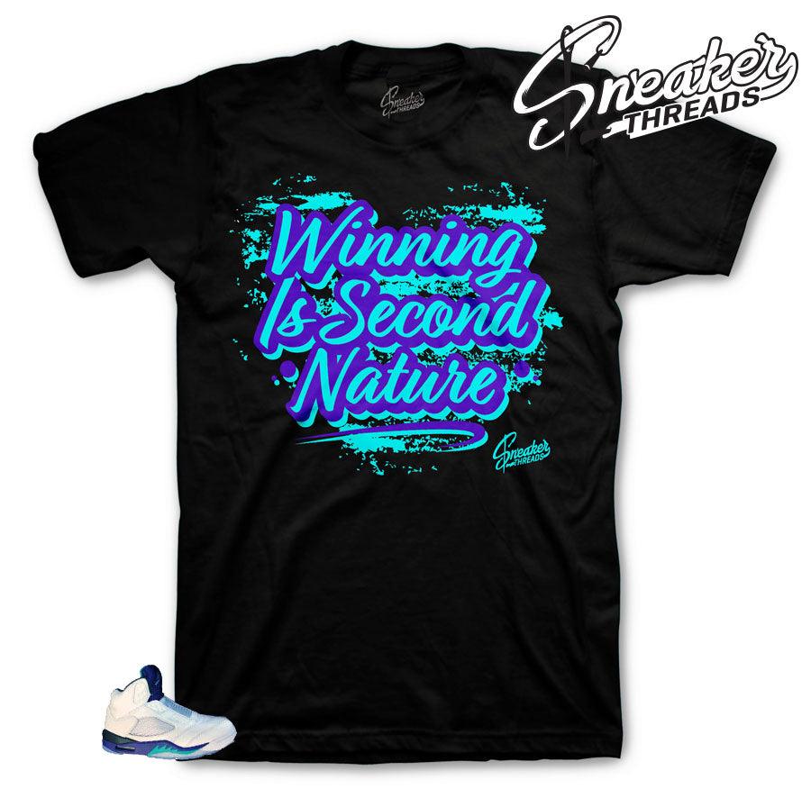 Jordan bel air 5 Second Nature shirt