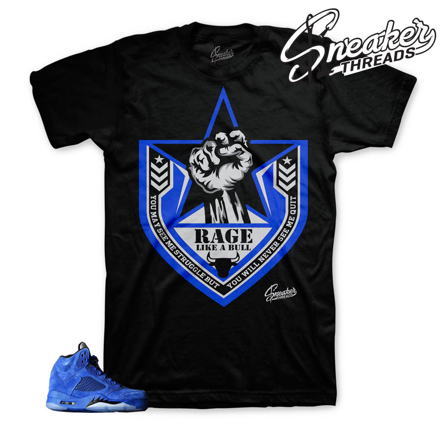Your number sneaker tees shirts store | Blue Suede 5 tees match