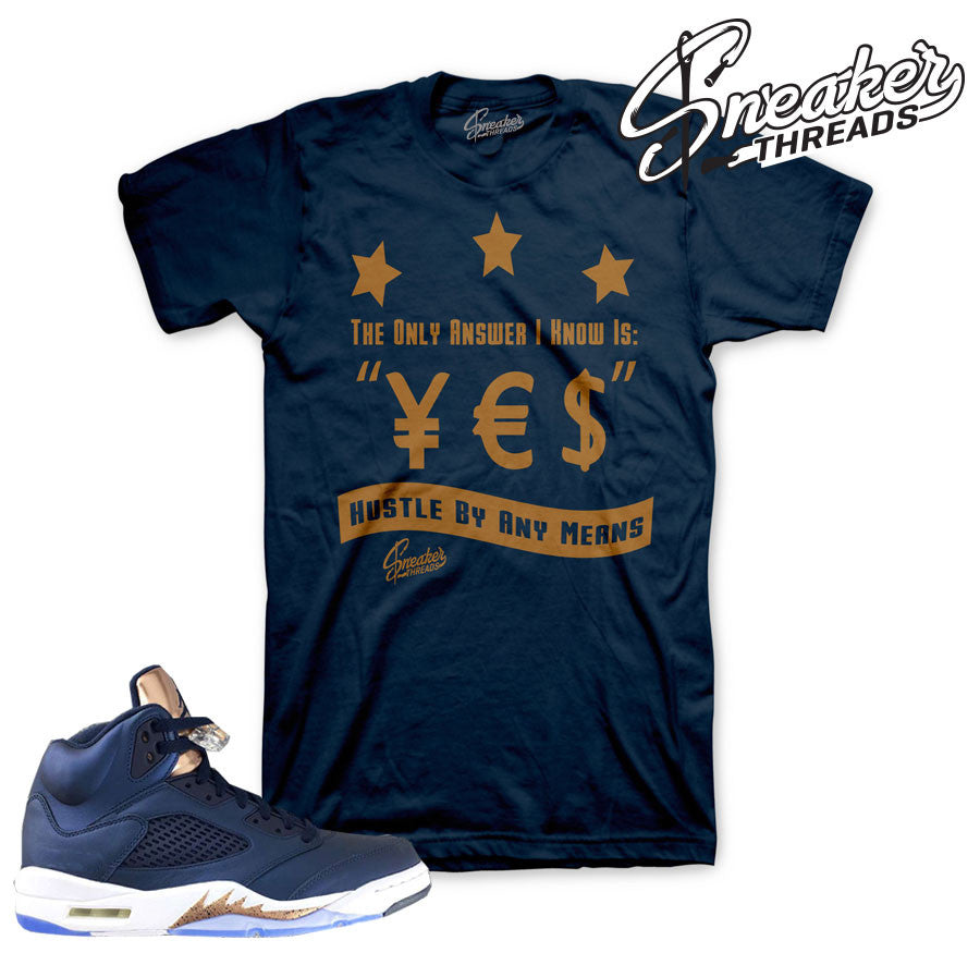 d249b4f2b9afe4 Your shopping bag is empty. Go to the shop · Home Jordan 5 Bronze Answer  Shirt. Share