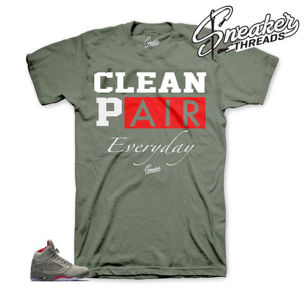 Jordan 5 Camo  Everyday Shirt