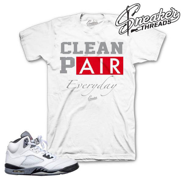 Jordan 5 Cement Everyday Shirt