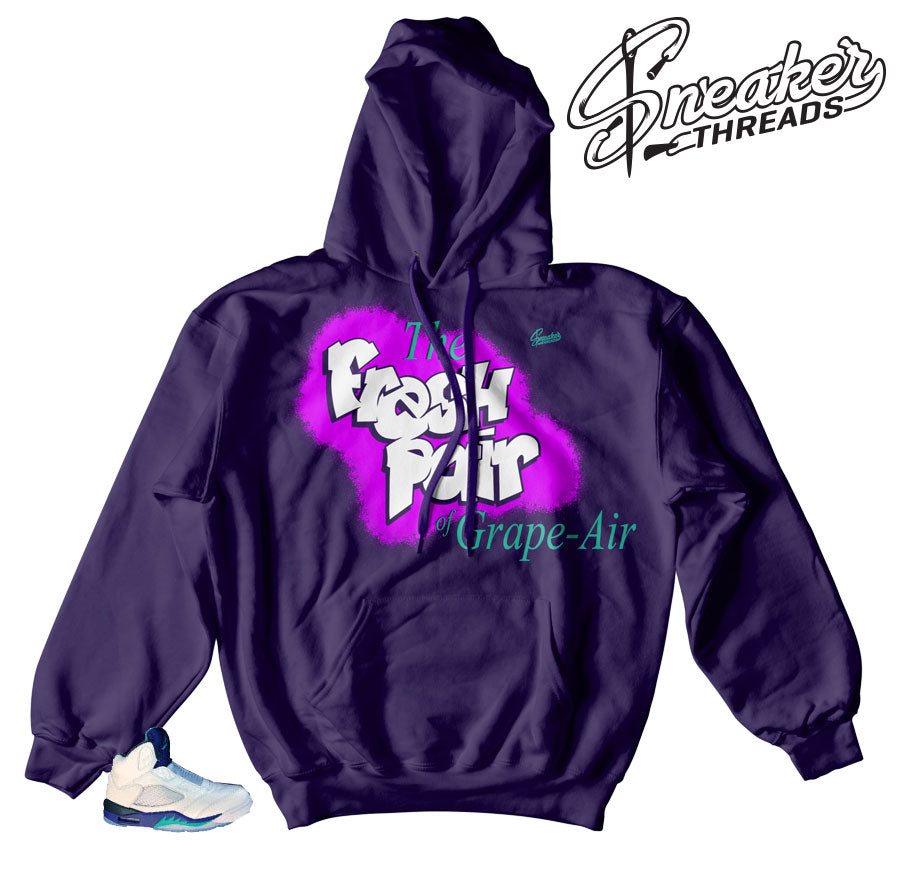 Best hoodies to match Grape 5's