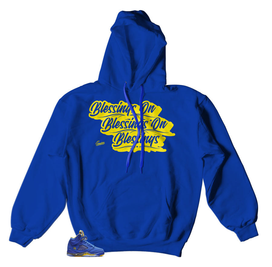 Hoody to match Jordan 5 reverse Laney sneaker collection