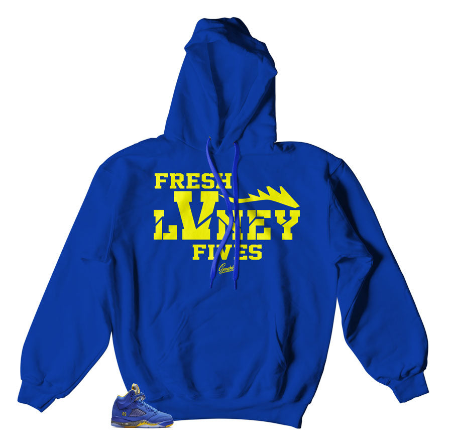 Best hoodies to match Jordan 5 retro reverse Laney sneaker collection
