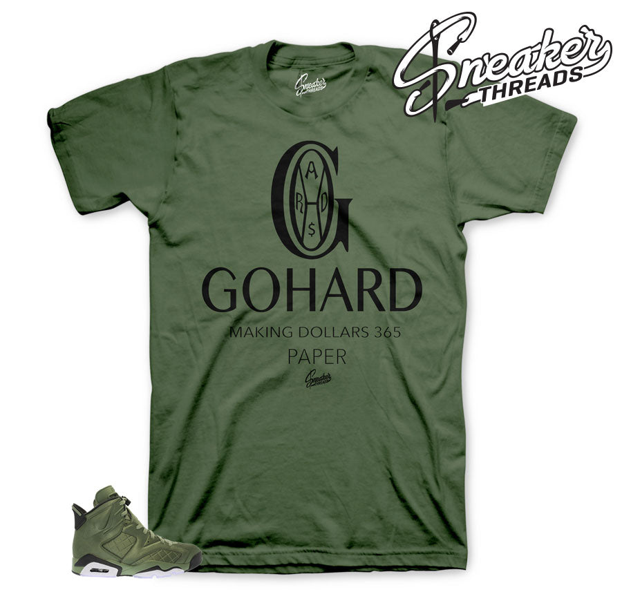 Jordan 6 flight jacket shirts | Official pinnacle 6 shirt match.