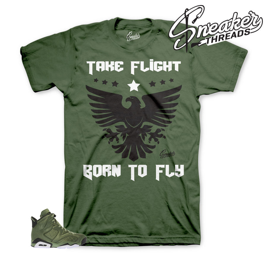 Tee match Jordan 6 flight jacket | Official matching clothing.