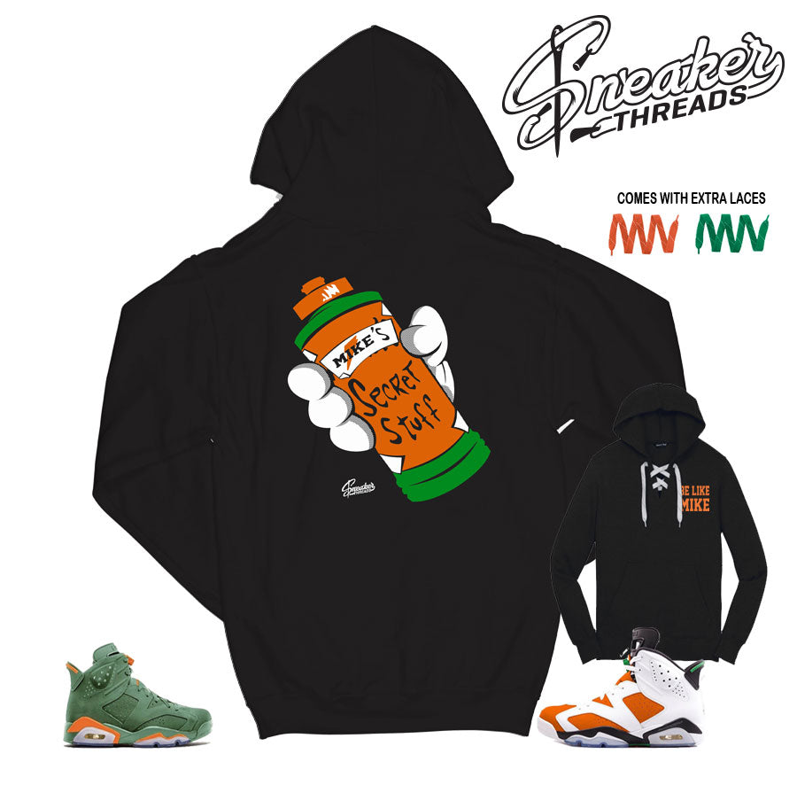 Jordan 6 gatorade sweater | Retro 6 gatorade hoodies match shoes.