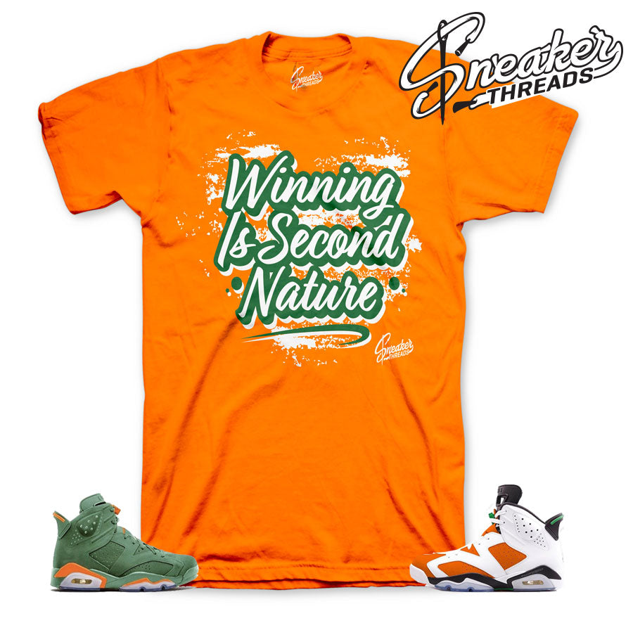 Jordan 6 gatorade shirts match | Be Like mike sneaker tees.
