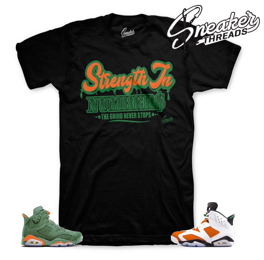 Jordan 6 gatorade tees match | Be Like mike sneaker shirt.