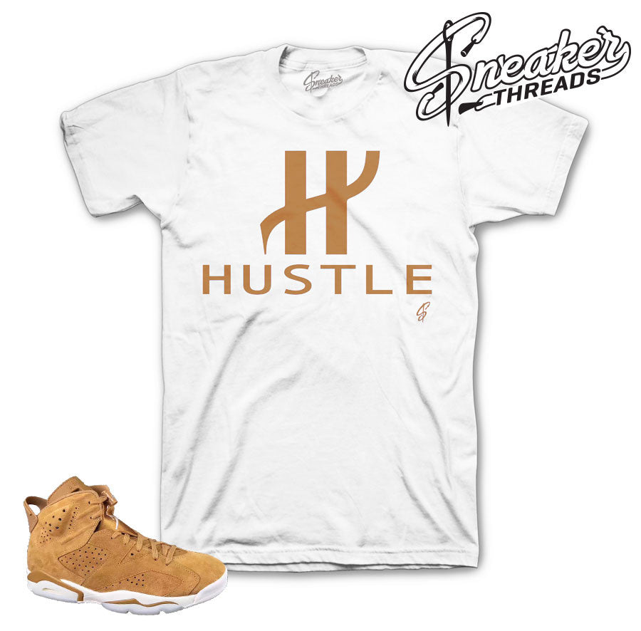 57796f6b0a7 Jordan Retro Wheat Big H Shirt. From $29.99. Shirts match Jordan 6 wheat  retro 13 and 1 golden harvest ...