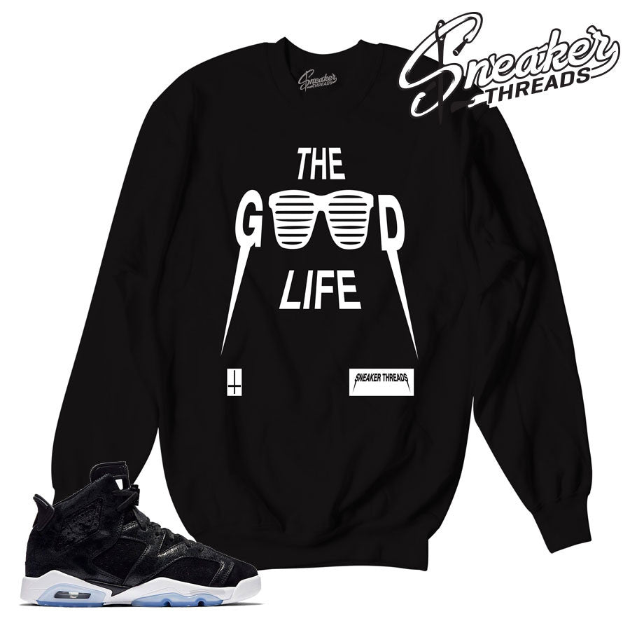 Jordan 6 heiress sweatshirts match shoes | Sneaker Sweaters