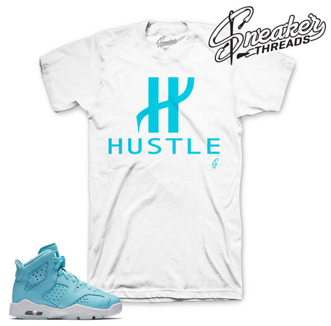 jordan 6 still blue shirts match | Sneaker tees match retro 6
