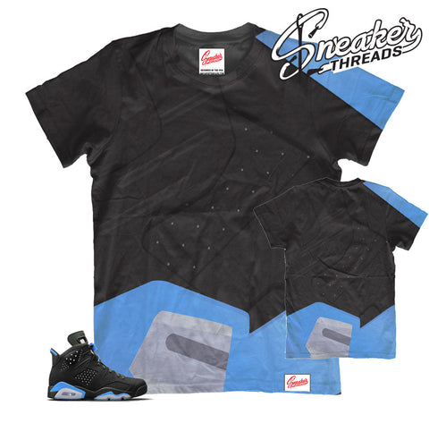 air jordans 6 retro unc shirts