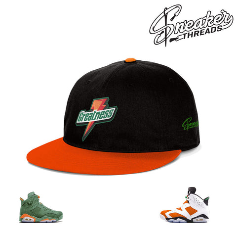 Jordan 6 gatorade hat match shoes | Be like mike retro 6 hats.