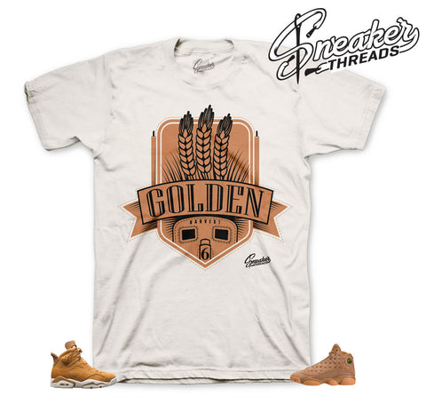 Jordan 6 golden harvest shirts match | Retro 6 sneaker tees.