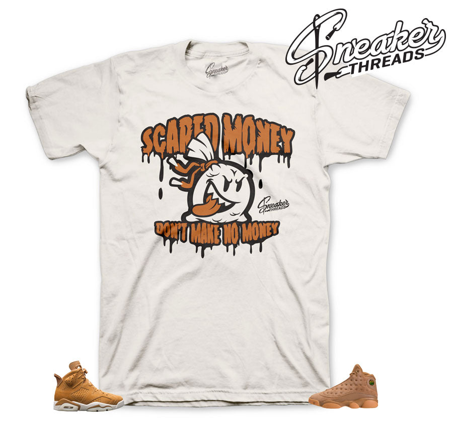 Shirts match Jordan 6 wheat retro 13 and 1 golden harvest tees. | Sneaker Threads | Official ...