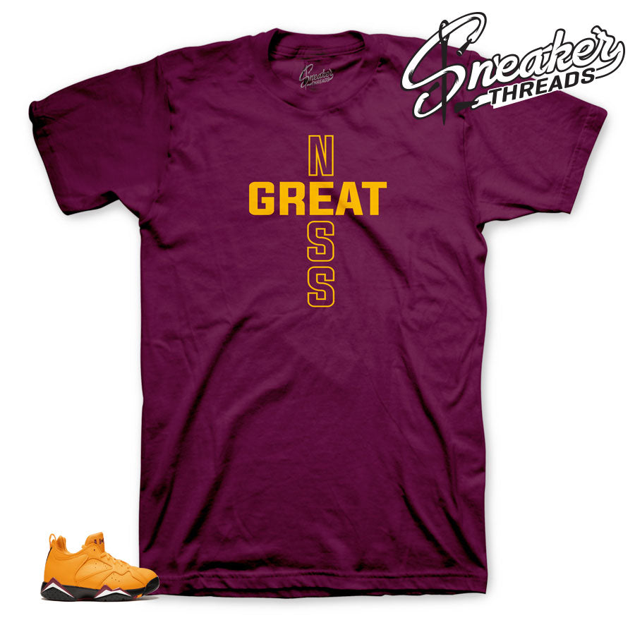 Jordan 7 Taxi Greatness shirt