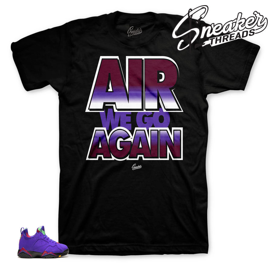 new products 7c7a9 60a66 Jordan 7 Low Concord Air We Go Shirt