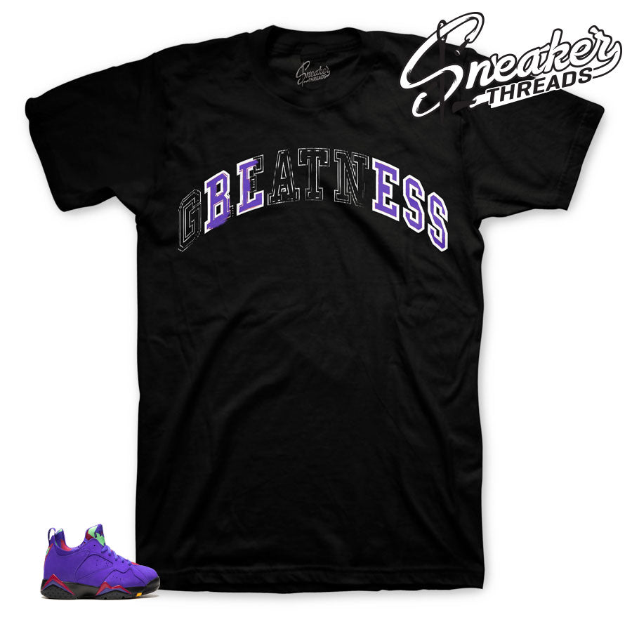 new concept 56ac5 47477 Jordan 7 Low Concord Stitched Bless Shirt