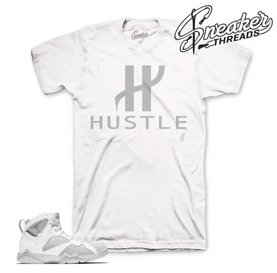Jordan 7 pure platinum tees match | Official sneaker tees