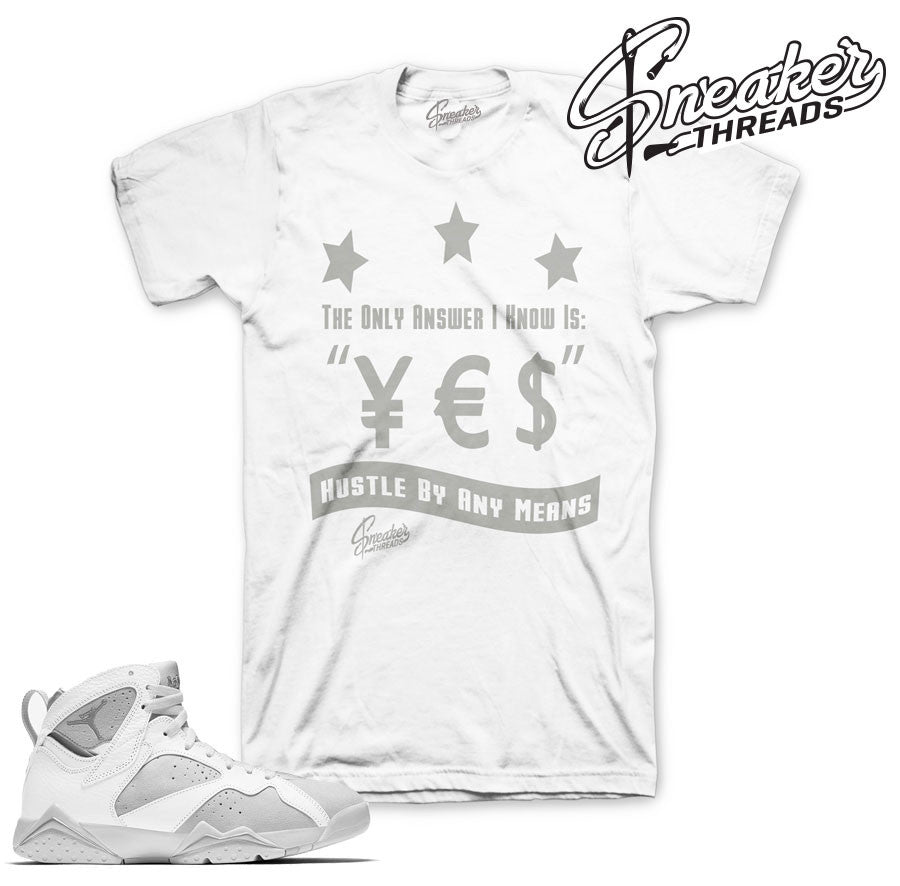 Jordan 7 Pure Money Answer Shirt