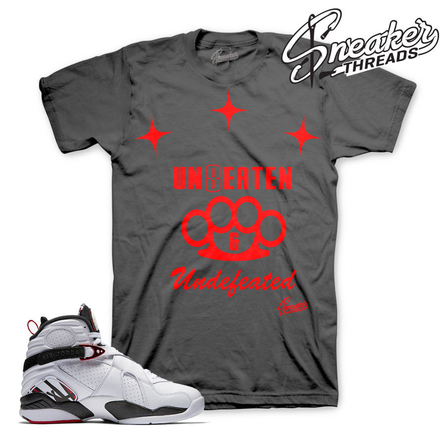 Jordan 8 alternate shirts match retro 8's alternate t-shirts.