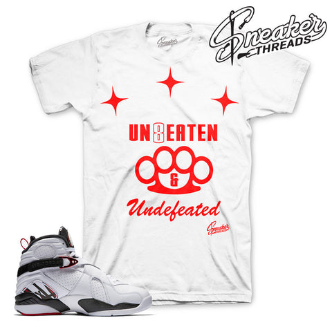 Jordan 8 alternate tees match retro 8's alternate shirts.