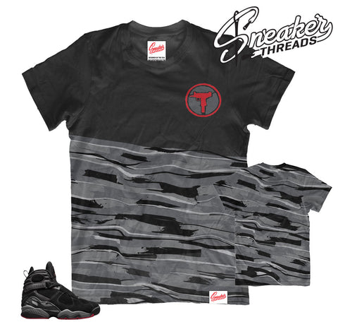 Jordan 8 bred shirts and apparel to match new retro 8s.