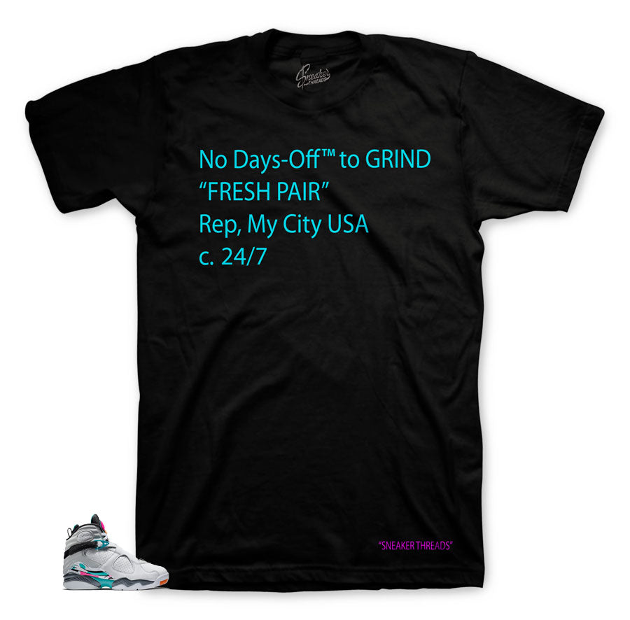 b15060d4652646 Home Jordan 8 South Beach Days-Off Shirt. Share