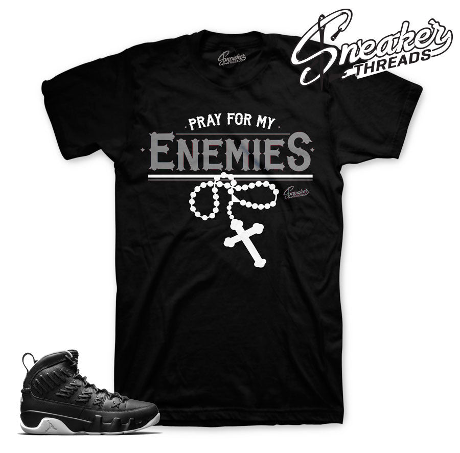 Jordan 9 Baseball Glove Enemies Shirt