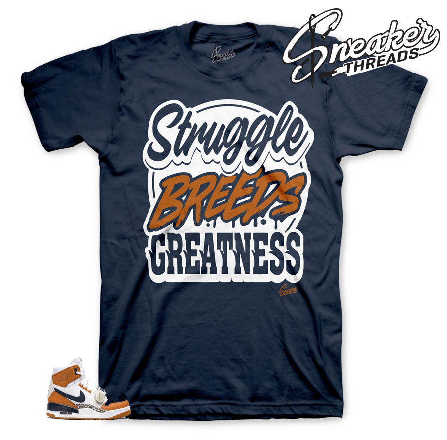 Legacy 312 Struggle Breeds shirt for Medicine Ball