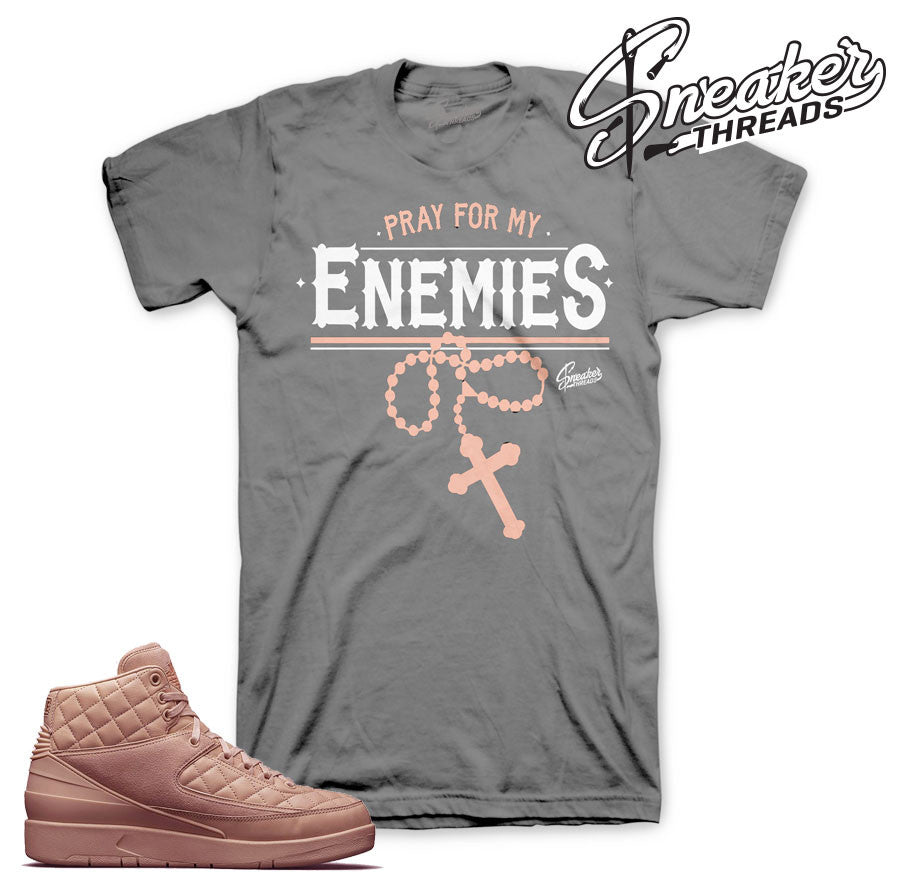 Jordan 2 just don arctic orange official matching tees shirts.