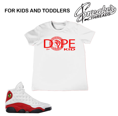 Kids Jordan 13 OG Sneaker Tees | Match retro 13 shoes