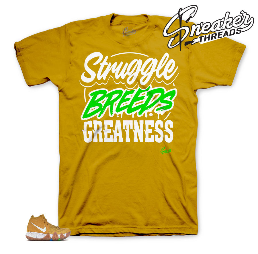 Struggle Breeds Shirt to match Cinnamom Toasts Kyrie