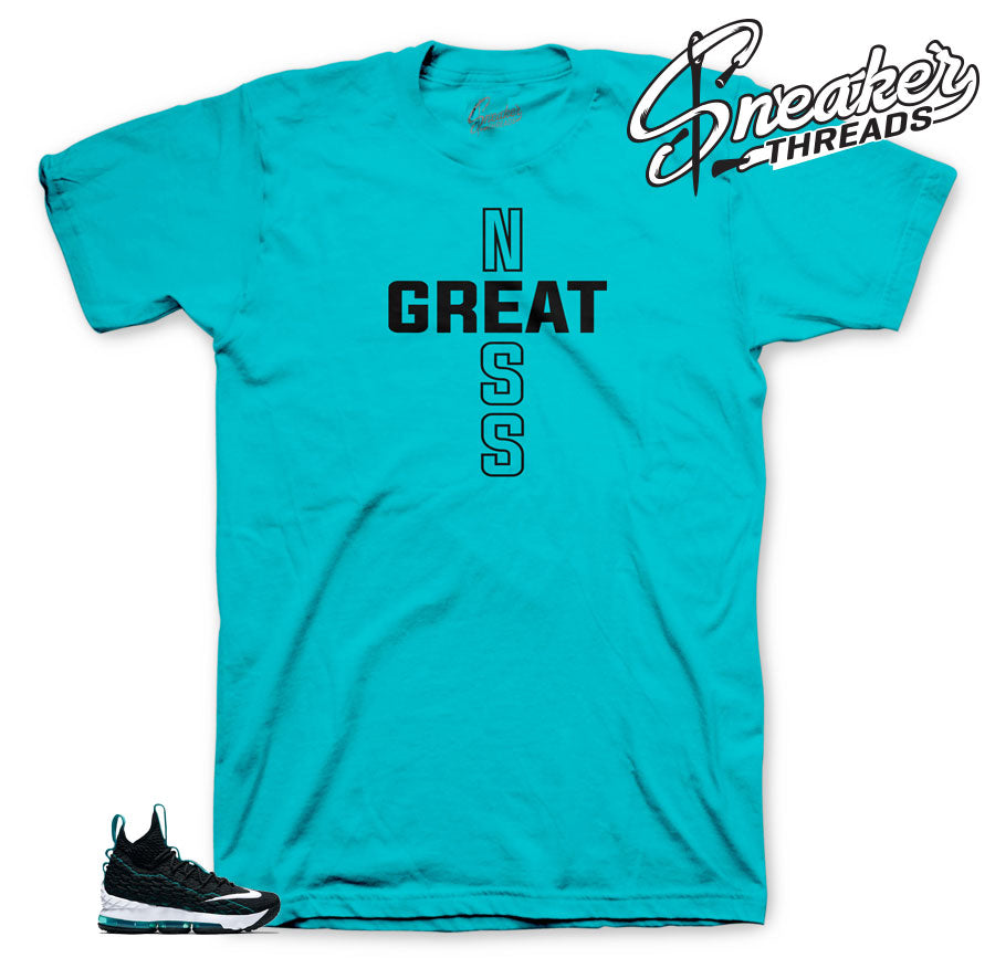 Sneaker tees match lebron 15 griffey sneakers perfectly.