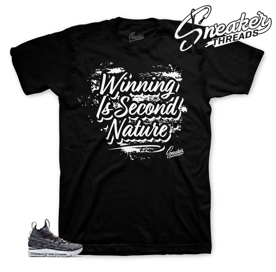 Official matching shirts for Lebron ashes sneakers.