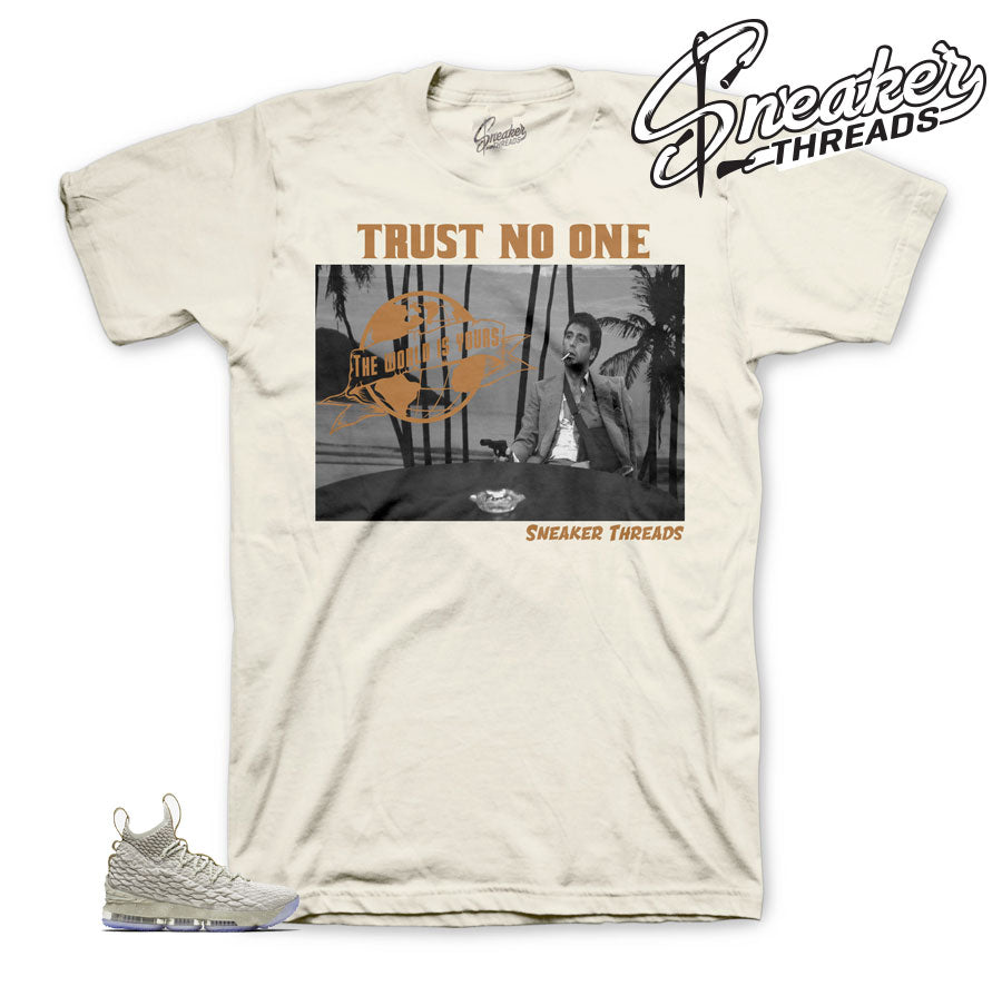 Ghost lebron 15 tees match shoes | Ghost 15 tees.