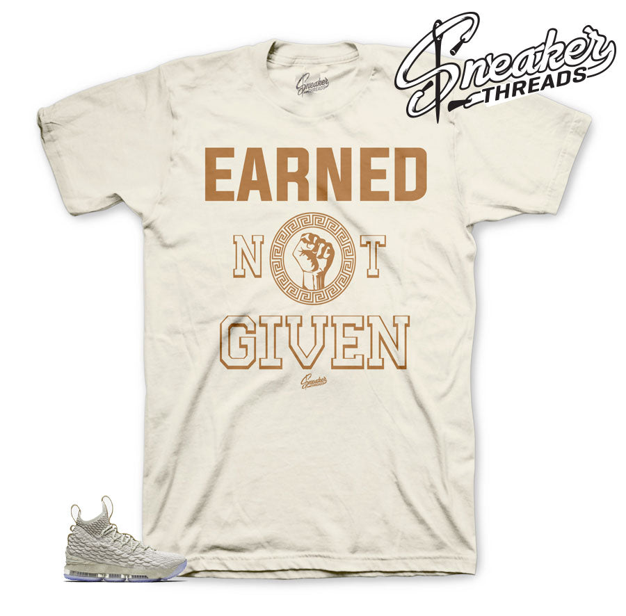 Ghost lebron 15 shirts and tees match shoes.
