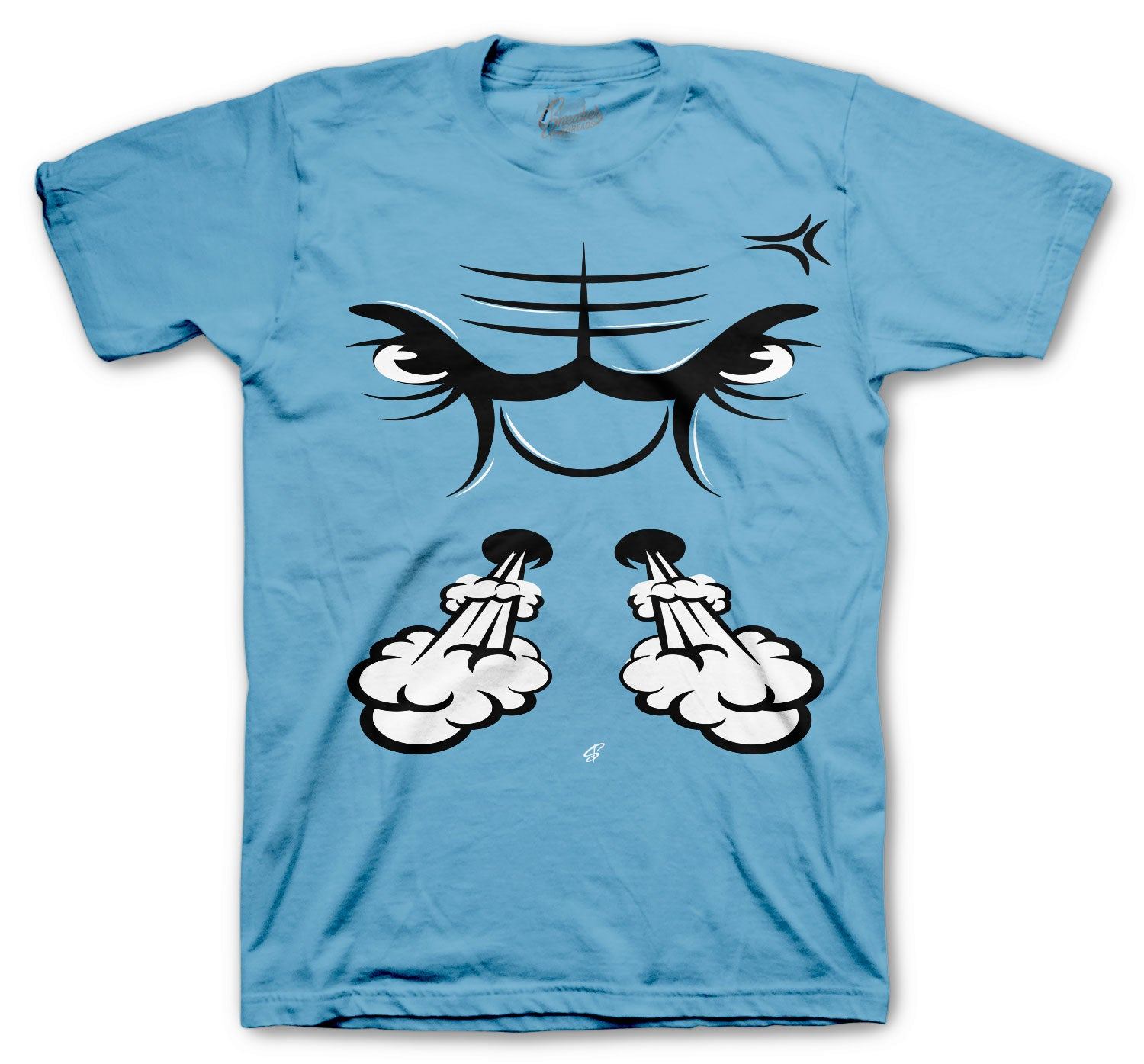 Jordan 11 Legend Blue Raging Face Shirt