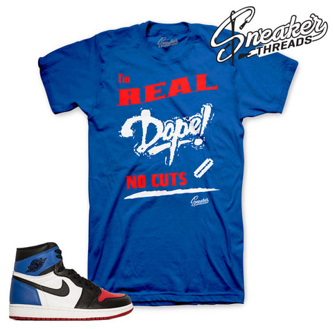 Jordan 1 top 3 shirts match retro 1 top three sneaker tees.