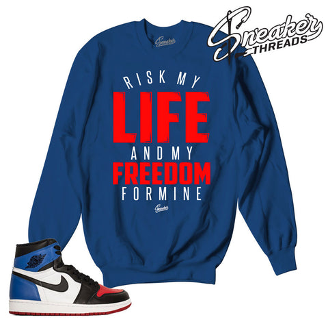 Jordan 1 Top Three My Life Sweater