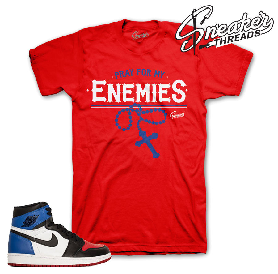 Jordan 1 Top Three Enemies Shirt