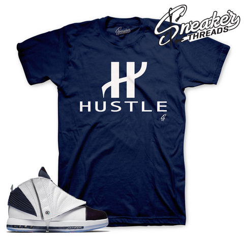 Jordan 16 midnight navy shirts match retro 16 tees.