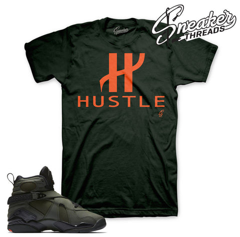 Jordan 8 take flight tees match retro 8 sequoia shirts.