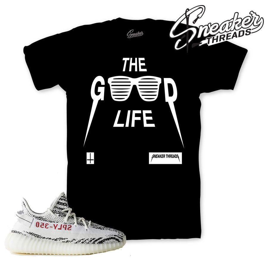Yeezy boost 350 zebra tee match boost zebra shirts.