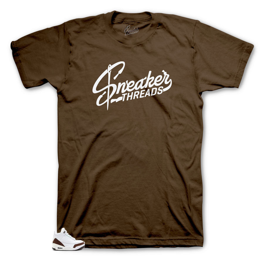 Jordan 3 Mocha sneakers matching Mocha collection Tee | Jordan 3 Mocha Collection