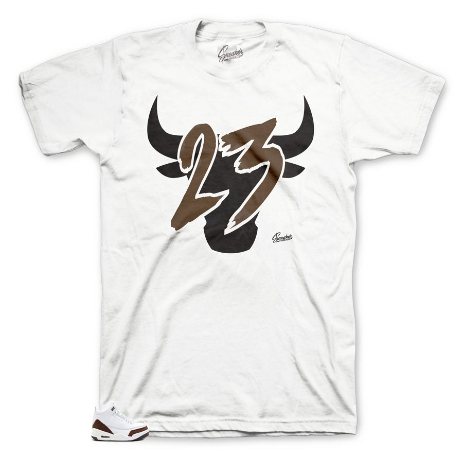 Jordan 3 Mocha Sneakers matching t-shirts made for Mocha collection Jordan 3