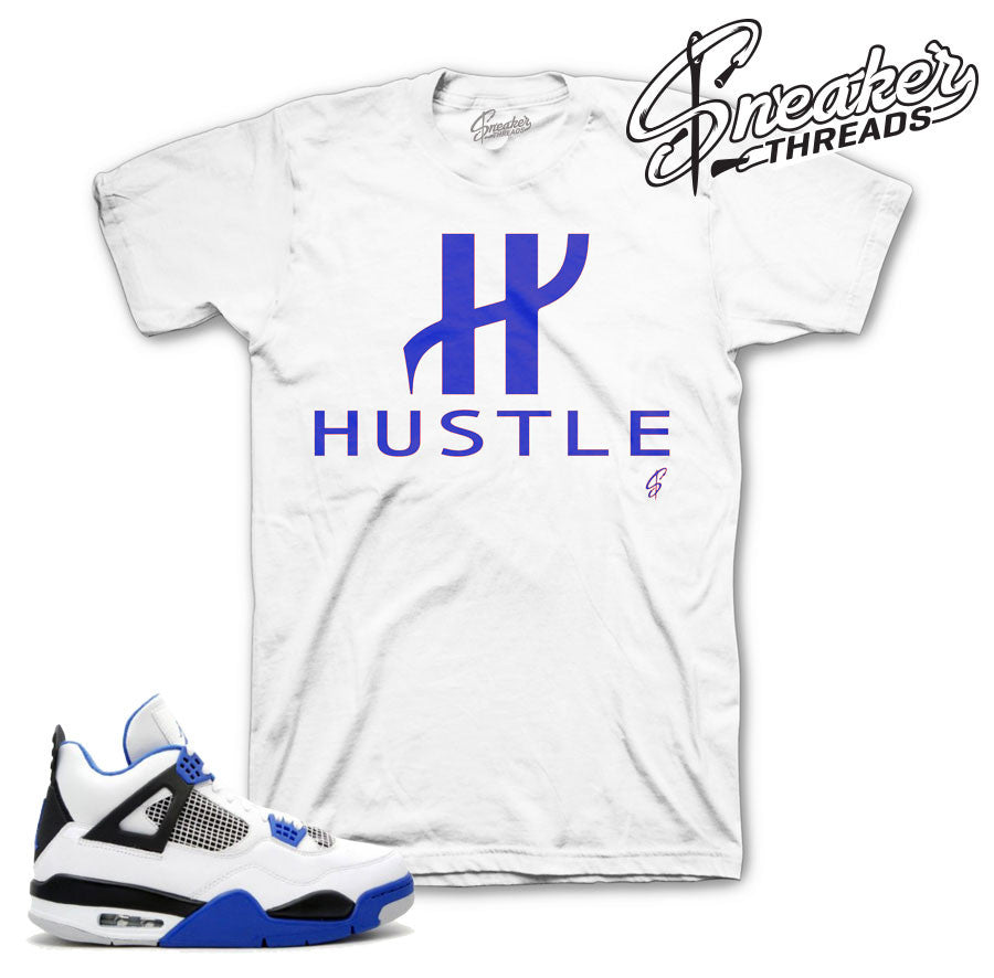 Jordan 4 motorsports tees match shoes | Sneaker Tee