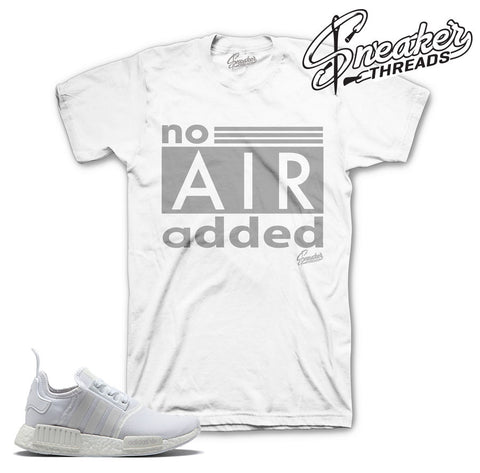 Adidas NMD r1 tee match crisp white shoes. NEW 2017 NMD.