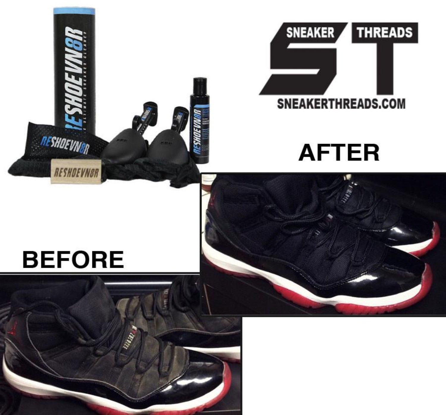 Premium shoe cleaning kit for Nike Jordan sneaker shoe cleaner.